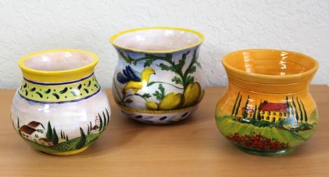 Tuscan Pots