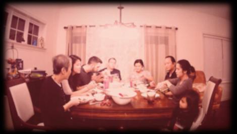 Family Dinner: Movie Still